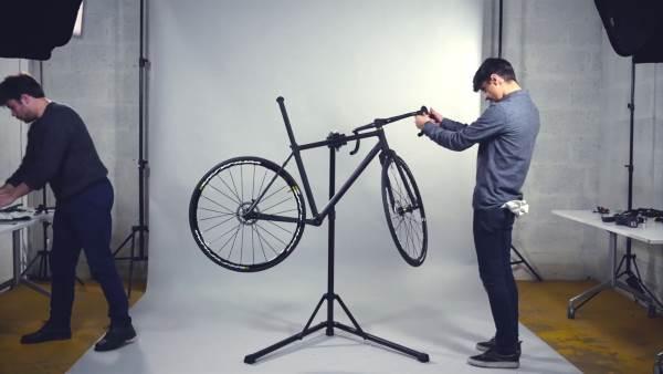 3d Printed road bike at CES 2017