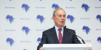 Michael R. Bloomberg, founder of Bloomberg L.P. and Bloomberg Philanthropies