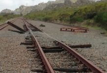 Continued railway infrastructure theft, 6 arrested, Grabouw. Photo: SAPS