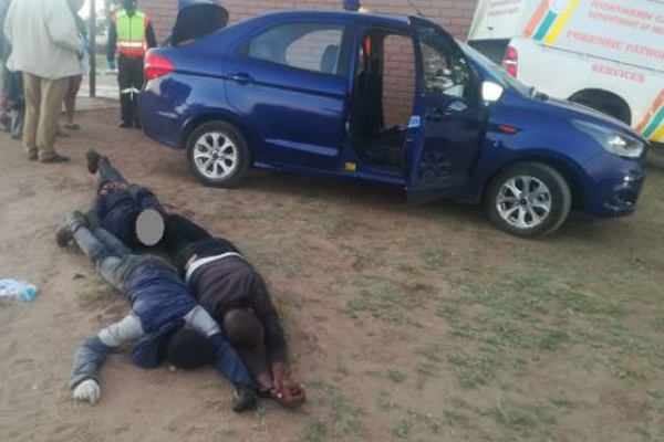Police kill one hijacker after man robbed, locked in car boot, Mothibistad. Photo: SAPS