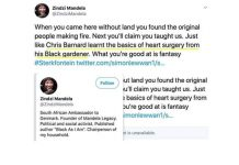 Racist twitter messages: AfriForum calls for dismissal of Zindzi Mandela, Denmark. Photo: FNSA