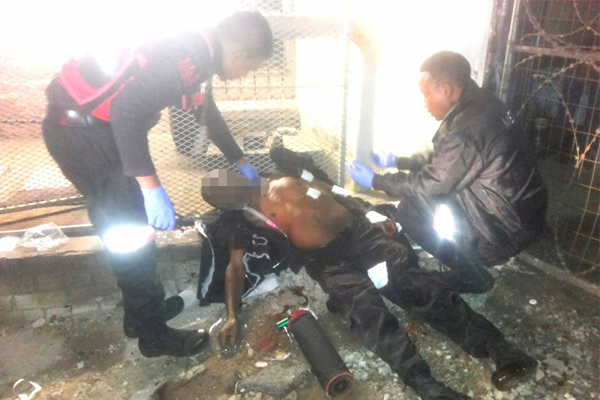 Private security officer shot and killed, robbed of air rifle, Verulam. Photo: RUSA