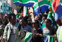 South Africa has seen a steady rise in the number of protests Shutterstock