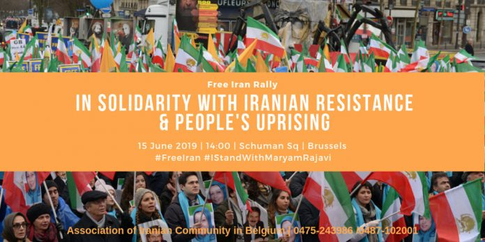 Live stream of the grand march in Brussels in solidarity with Iranian people and their uprising