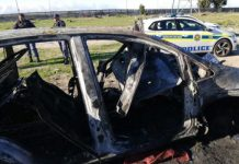 Remains of Kuilsriver hijacked vehicle recovered, 3 arrested, Delft. Photo: SAPS