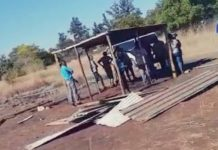 AfriForum obtains urgent court order to stop land grabs, Rustenburg. Photo: Ian Cameron