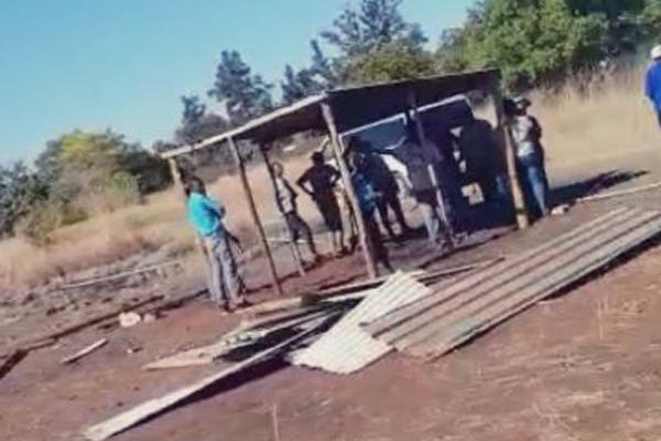 AfriForum obtains urgent court order to stop land grabs, Rustenburg. Photo: Ian Cameron