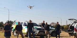AfriForum assists in the arrest of 12 illegal miners, Springs. Photo: AfriForum