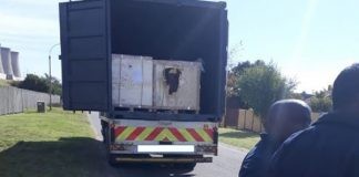 Kempton Park truck hijacking, four arrested after chase. Photo: SAPS