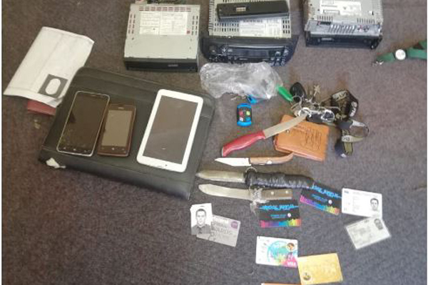 Shack raid recovers stolen property and drugs, Amalinda Forest, EL. Photo: SAPS