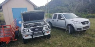 Numerous stolen items including vehicles recovered, Coffee Bay. Photo: SAPS