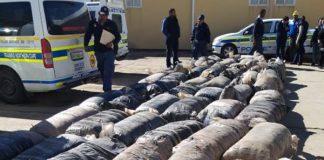 R3,2 million dagga bust, Calvinia. Photo: SAPS