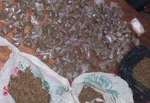 Three drug dealers arrested with mandrax and dagga, Deben. Photo: SAPS