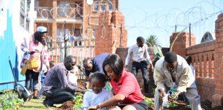 Blessings Eco Preparitory School - Official Opening: Babazile Msibi ; Motshabi Thibela; Tim Abaa