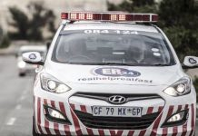 Two adults and three children die in Meyerton home fire. Photo: Arrive Alive
