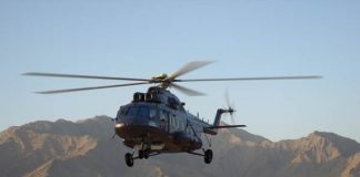 Russian Helicopters transfers a batch of repaired Mi-17 helicopters to Laos