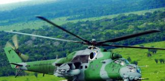 Rostec presents modernized Mi-35M and Mi-35P helicopters