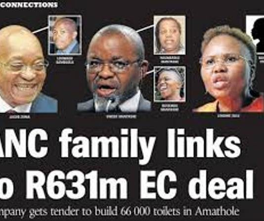 Mkhwebane raises a stink, protects politicans in R631 million toilet scandal and resuscitate discredited SARS 'rogue unit' claims