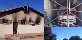 Ottosdal violent protests: Destruction, damages and chaos. Photo: SAPS