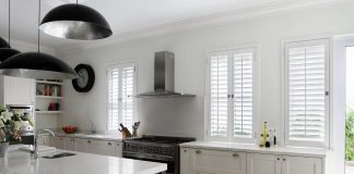 The beauty of Plantation Shutters in your Kitchen