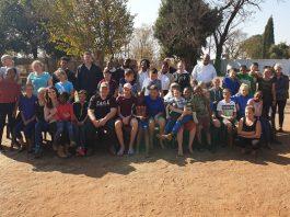 'Dynamic Women for Children' care for 50 underprivileged children, Roodeplaat. Photo: Dynamic Women for Children