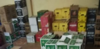 Crackdown on liquor outlets selling 'Export only' liquor. Photo: SAPS