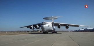 Rostec upgrades A-50 early warning aircraft