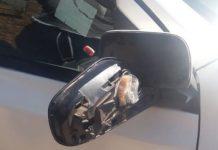 3 Drug busts: Tik found in vehicle side mirror, Upington. Photo: SAPS
