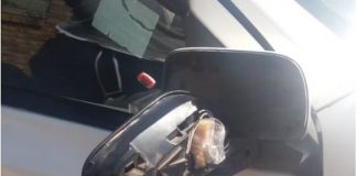 3 Drug busts: Tik found in vehicle side mirror, Upington. Photo: SAPS