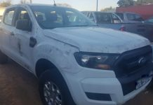 Cross border crime, stolen vehicles recovered, Emanguzi. Photo: SAPS
