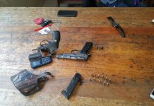 Four illegal firearms recovered, Durban. Photo: SAPS