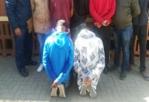 Ten motor vehicle theft cases, 6 suspects arrested, Kimberley. Photo: SAPS