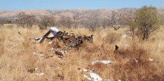 Two die in plane crash near Hartbeespoort Dam. Photo: Arrive Alive