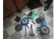 Four housebreakers nabbed, Prieska. Photo: SAPS