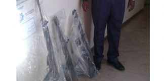Selling of assault rifles, one suspect shot and killed, Thabong. Photo: SAPS