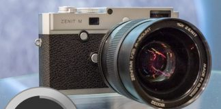 Zenit M camera demonstrated for the first time in China