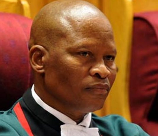 South Africa's Chief Justice Mogoeng Mogoeng has had to intervene to protect judges from unfair criticism. GCIS/Flickr