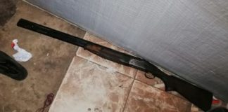 AGU raid houses, recover stolen firearms, PE. Photo: SAPS