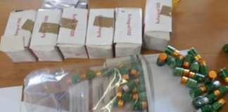 Medicine control and drug trafficking act: Boksburg adult shop owner arrested. Photo: SAPS