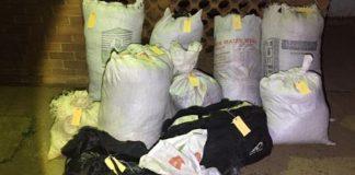 Dagga smugglers nabbed with huge consignments, KZN. Photo: SAPS
