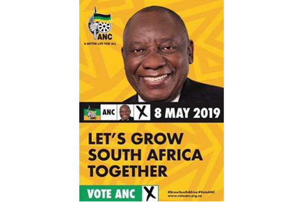 ANC was unaware of 'election poster' invoice for R102 million. Photo: Die Vryburger