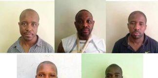 Five dangerous criminals escape from Klerksdorp court. Photo: SAPS
