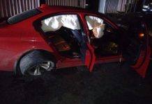 Hijackers arrested after high speed pursuit, Cape Town. Photo: SAPS