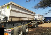Polokwane illegal mining, vehicles impounded, suspects arrested. Photo: SAPS