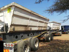 Polokwane illegal mining, vehicles impounded, suspects arrested. Photo: SAPS