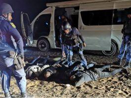 Kuruman police foil ATM bombing, arrest 5 robbers, Hotazel. Photo: Arrive Alive