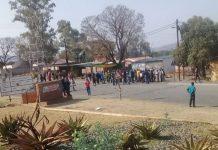 Ladysmith public violence, roads blocked, 26 arrested, Steadville. Photo: SAPS