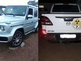 Cross border crime: Stolen vehicles recovered, Emanguzi . Photo: SAPS