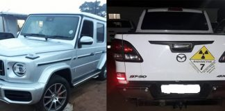 Cross border crime: Stolen vehicles recovered, Emanguzi . Photo: SAPS