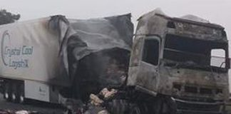 Truck driver doused with petrol: WC transport MEC - 'obstruction to our economy'. Photo: Arrive Alive